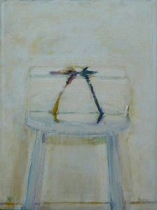 Web Box on Stool  2002